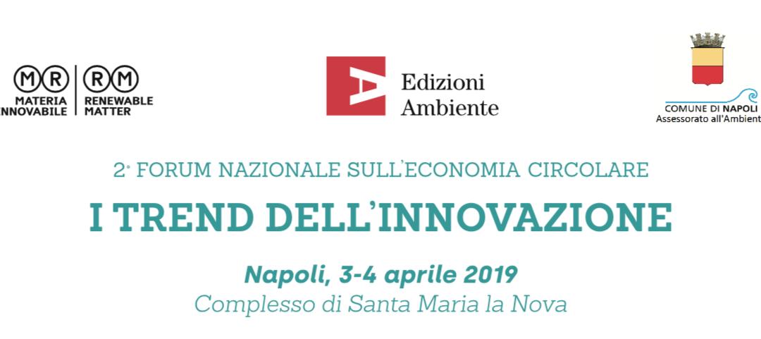 2° Forum Nazionale sull'economia circolare